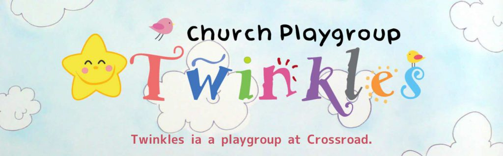 Twinkles is a playgroup at Crossroad church.